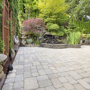 Paver patio outdoor living install,  berks county, Pennsylvania.