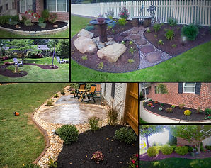 Backyard landscaping design install,  berks county, Pennsylvania.