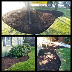 Beautiful landscape design and mulching installs  berks county, Pennsylvania.