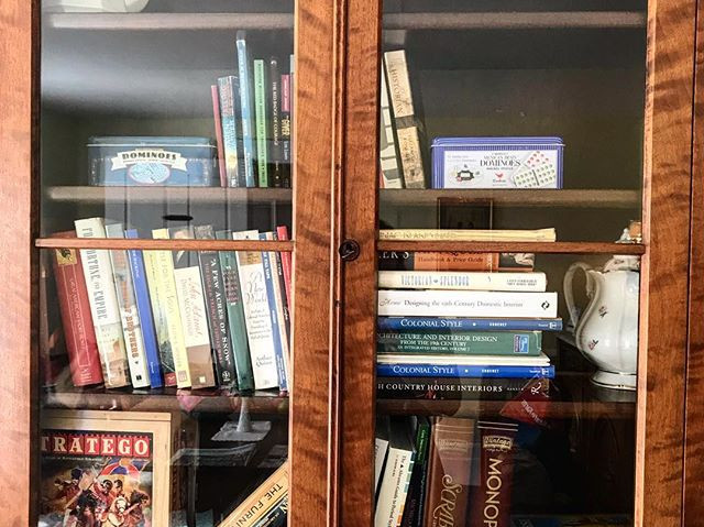 Our parlor bookcase