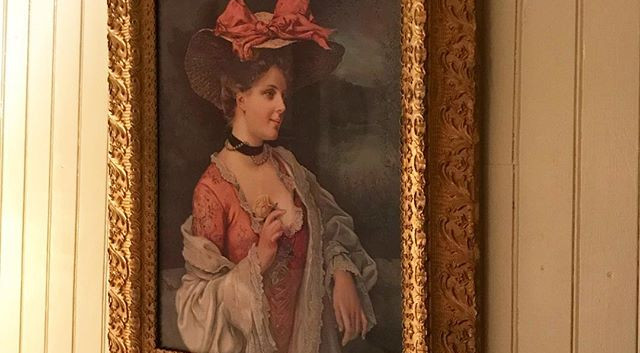 A portrait in the Madame LaFramboise room