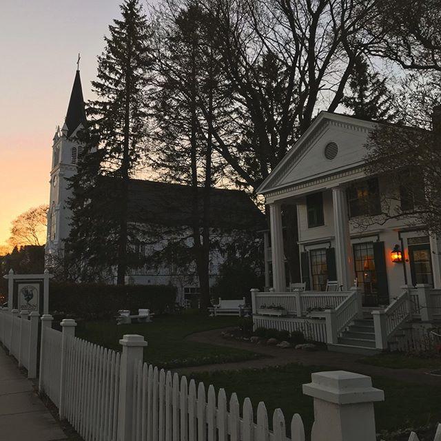 Sunset at the Inn