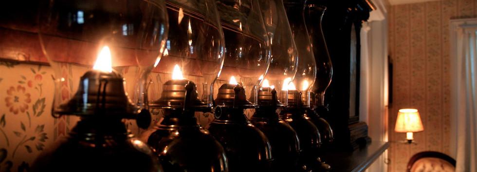 Our signature oil lanterns