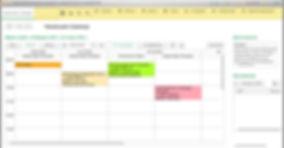 Вариант расположения панелей в программе Альфа-Ника: Косметология
