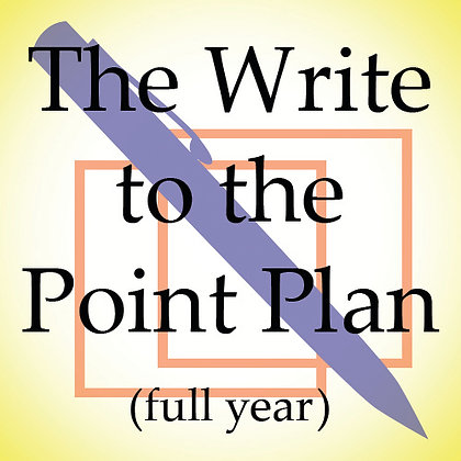 The Write to the Point Plan