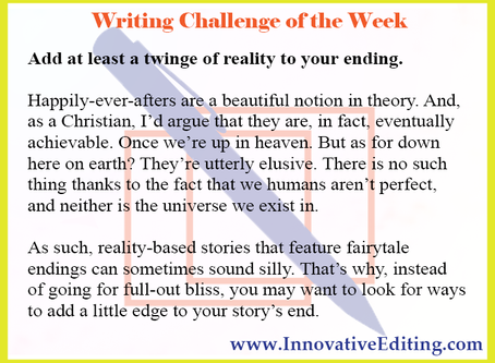 Is a Fairytale Ending Suitable for Your Story?