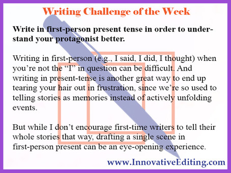 An Author's Words but a Protagonist's Point of View
