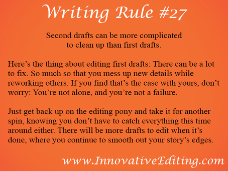 The Possibly Ugly, Definitely Fixable Truth About Editing a Second Draft