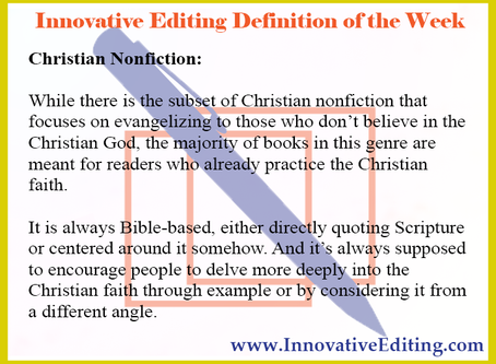 The Very Bottom-Line Basics of Writing Christian Nonfiction