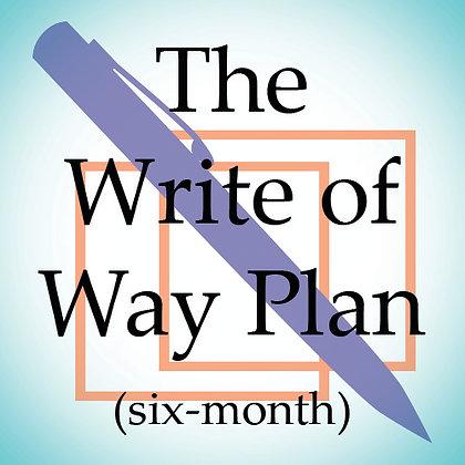 The Write of Way Plan