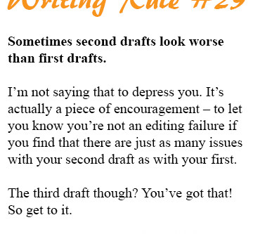 Don't Be Horrified if Your Second Draft Is a (Really) Rough Draft