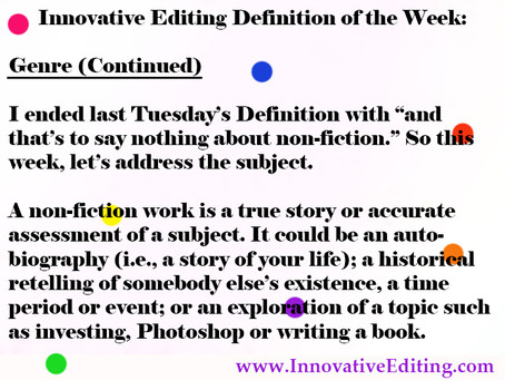 What Makes a Non-Fiction Writer?
