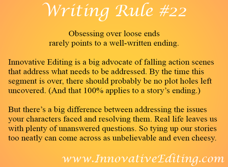 A Great Way to Ruin Your Novel's Falling Action