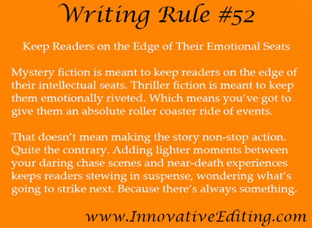 Keep Readers on the Edge of Their Emotional Seats