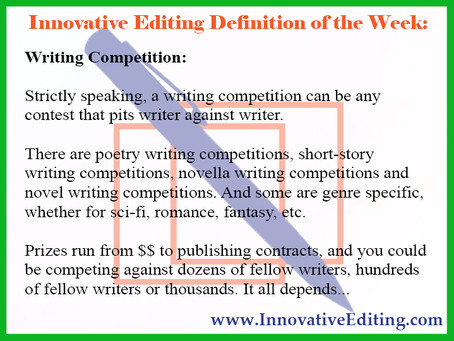 What You Need to Know About Writing Competitions (Other Than How They're Annoying to Search For)
