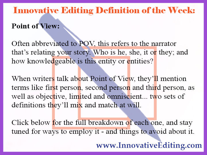 second person point of view meaning