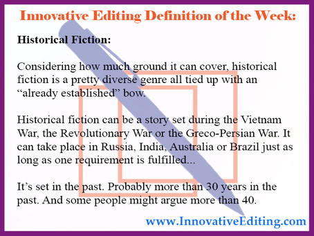 Could Your Life's Story Be Historical Fiction?