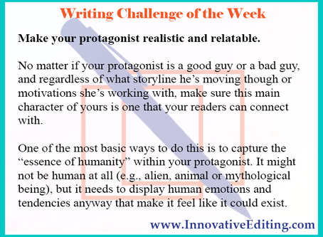 How to Write a Strong Protagonist