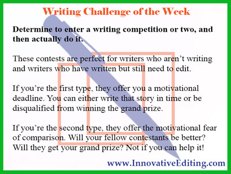 "Test Your ""Writing Competition Eligibility"" With This Quick Questionnaire!"