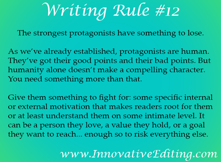 When You Want to Write a Strong Protagonist