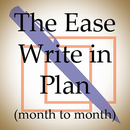 The Ease Write in Plan