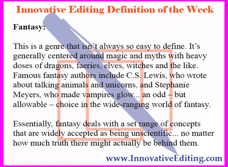 The Not-So-Easily Defined But Fully Fascinating Fantasy Fiction Writing Debate