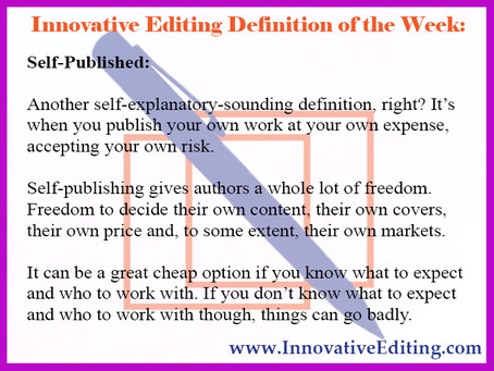 Don't Let Your Self-Published Freedom Go to Your Authorial Head