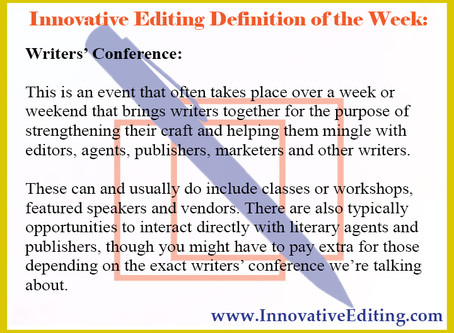 So… What Exactly Is a Writers' Conference?