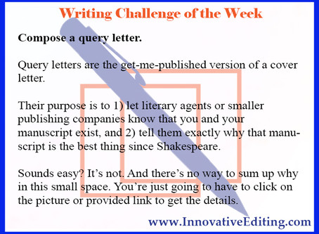 How to Write a (Possibly) Successful Query Letter