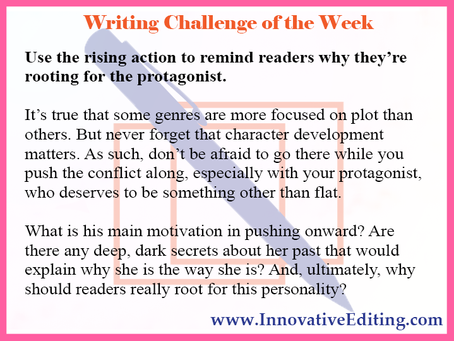 What to Write in Your Rising Action