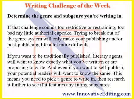 The Publishing and Marketing Side of Understanding Your Book's Subgenre Potential