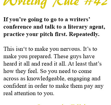So You're Going to Attend a Writers' Conference, Huh?