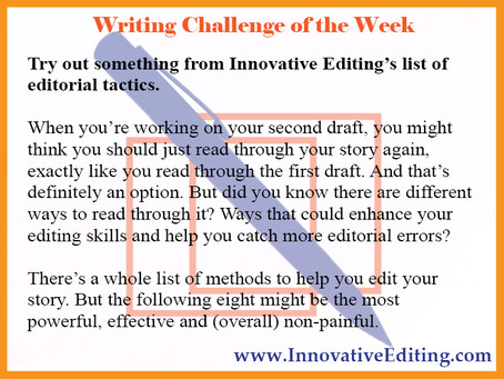 8 Ways to Edit the Second Draft – or Any Draft – of Your Manuscript