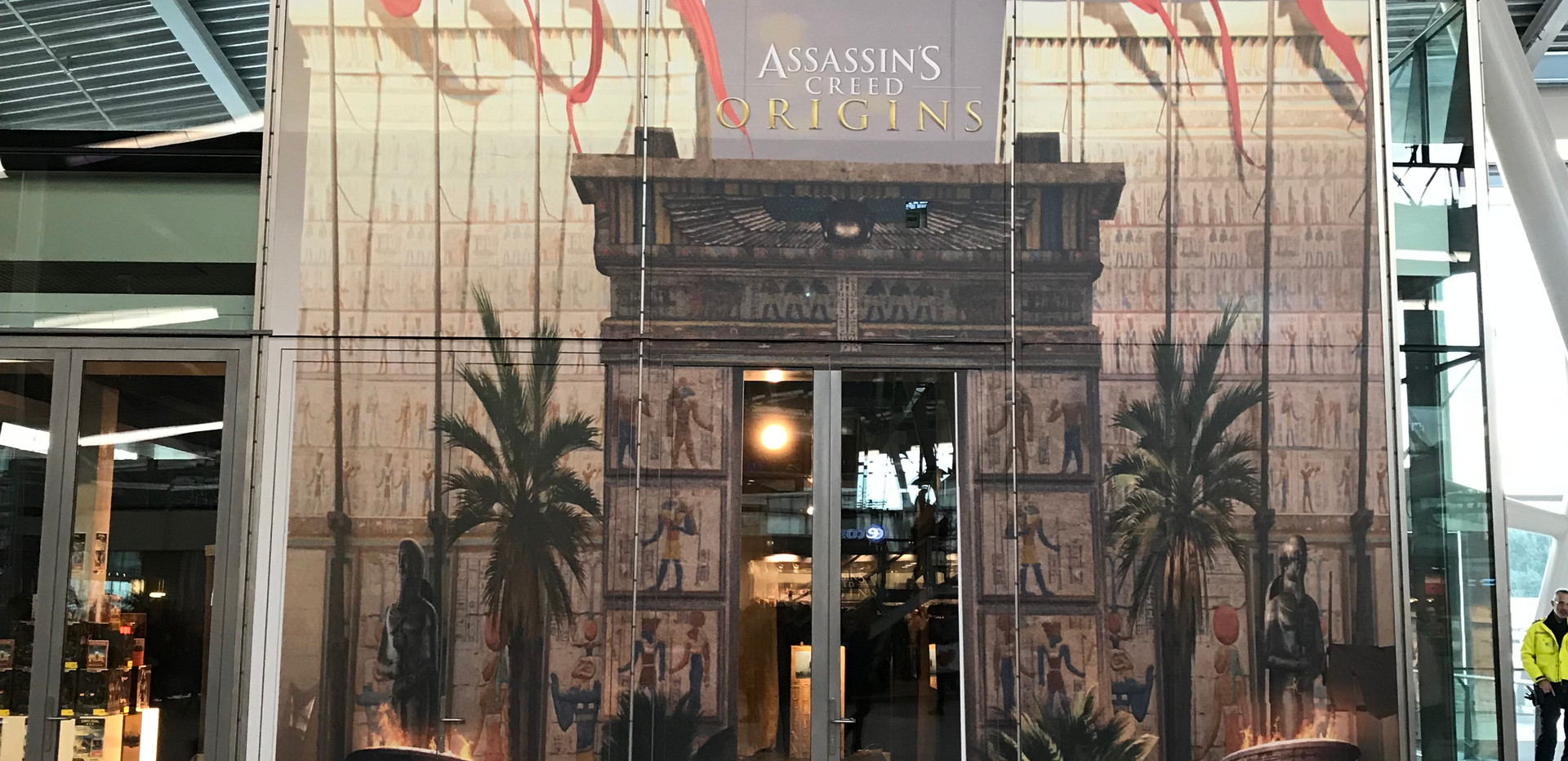 Assassin's Creed pop up store