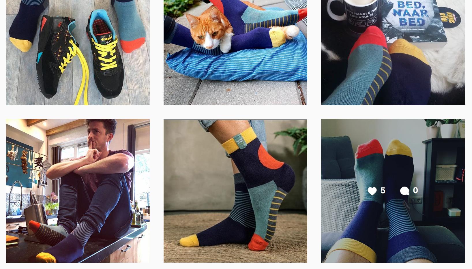 Alzheimer Socks