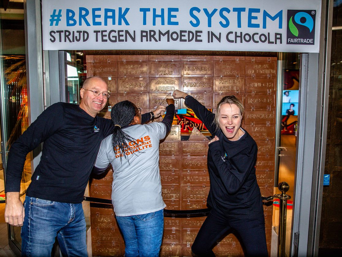 Opening Break The System pop up store