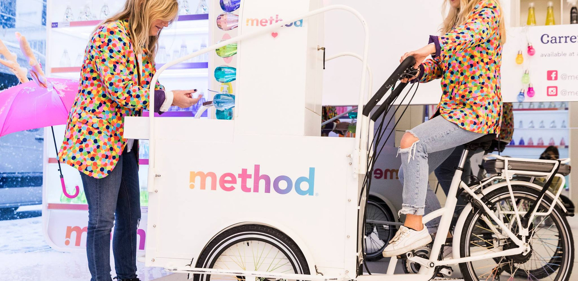 Method pop up store