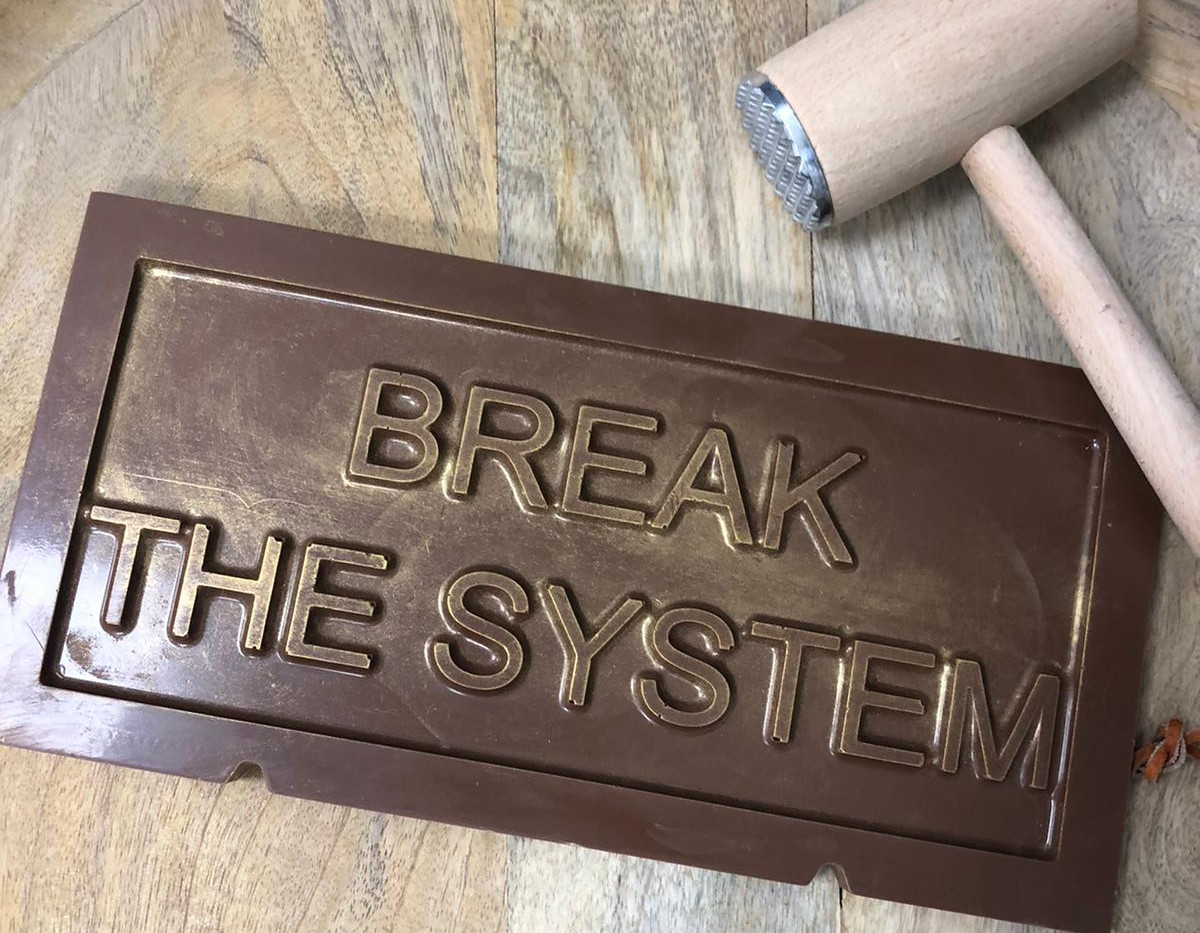 Literally break the system!