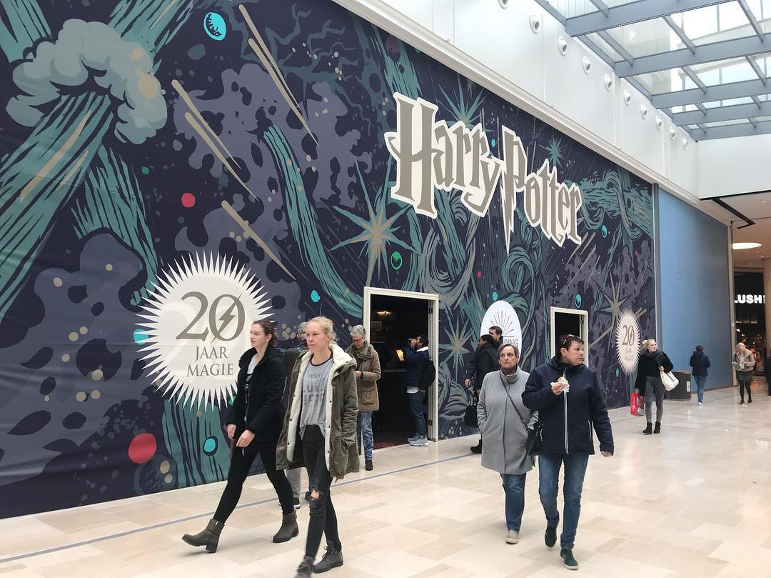 Harry Potter pop up store