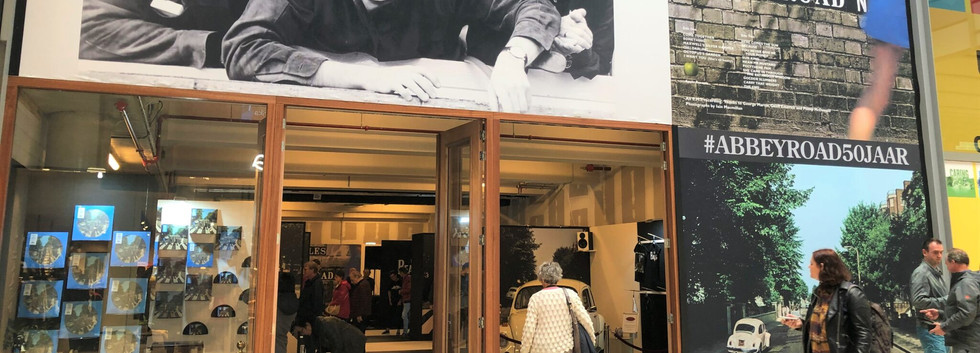 The Beatles pop up store