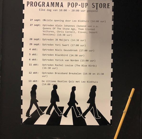 Pop up programma
