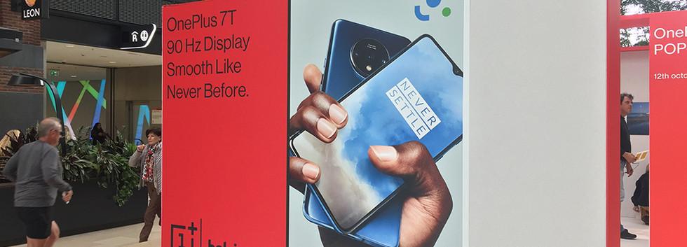 OnePlus pop up