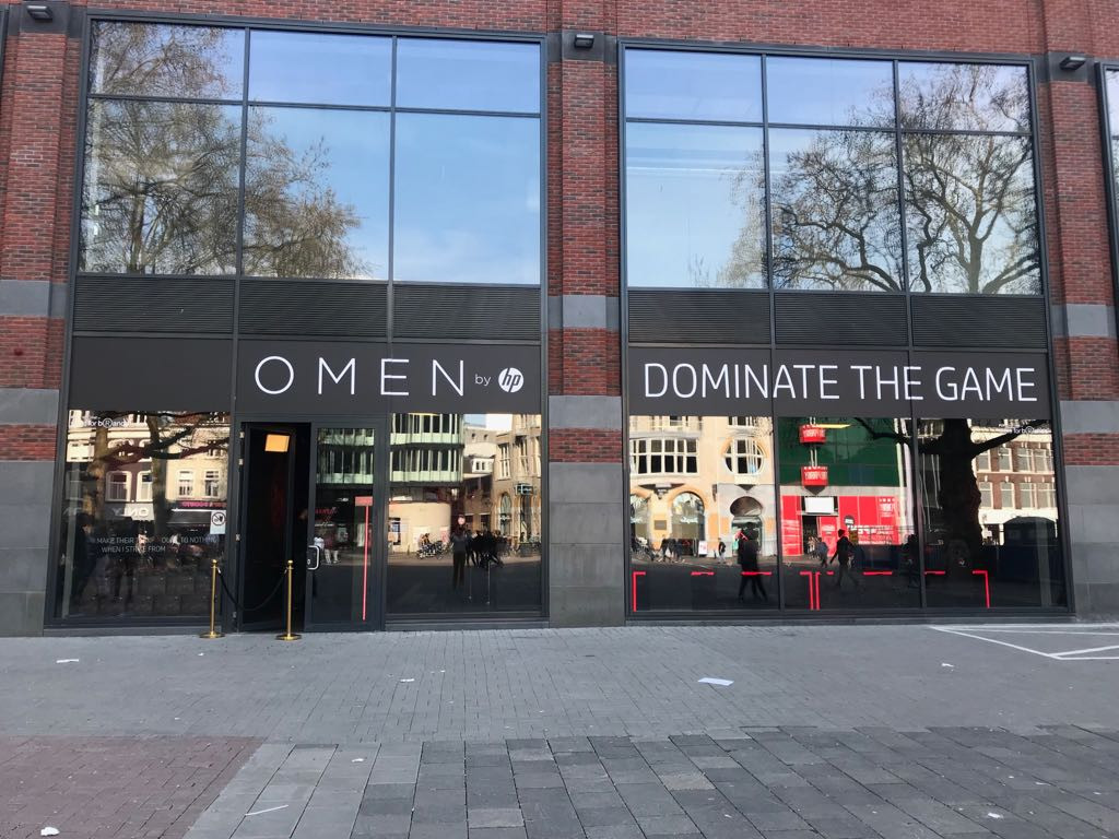Omen by HP pop-up store