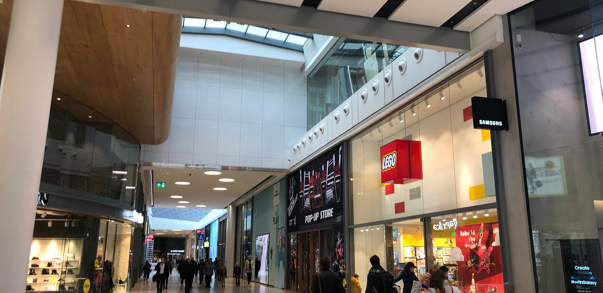 The Voice of Holland pop up store in Shopping mall Hoog catharijne, Utrecht