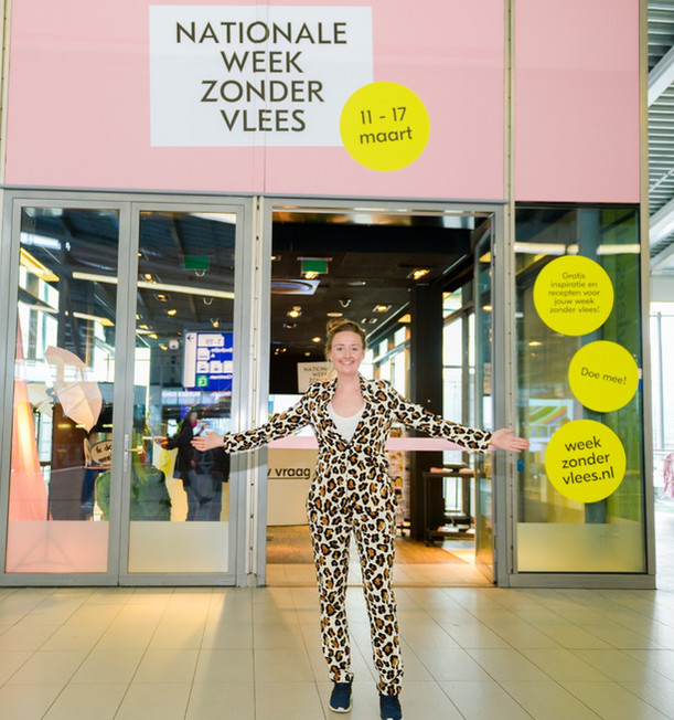 Nationale Week Zonder Vlees pop up