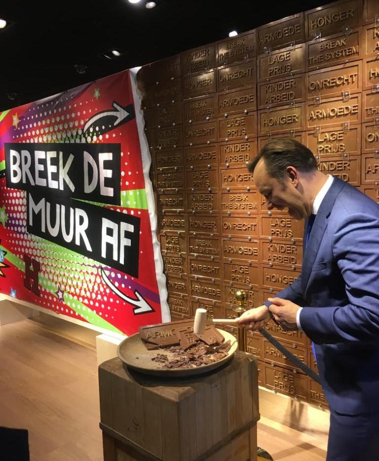 Break the chocolate wall here