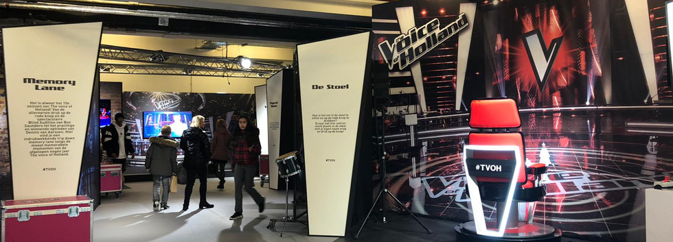 The Voice of Holland pop up store
