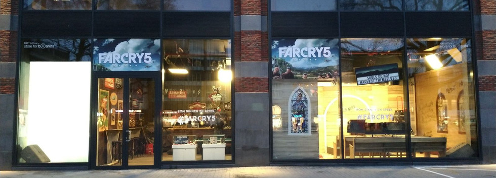 Far Cry 5 pop up store