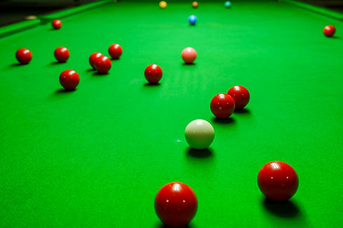 Snooker balls on table.jpg
