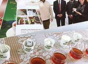 Tea Time e encontro com o General Jagath Jayasuriya